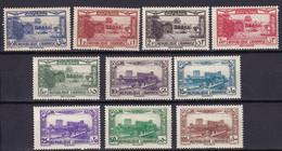 GRAND LIBAN - Série De PA De 1937 Neuve - Poste Aérienne