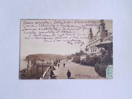 CPA Monte Carlo, Monaco, Le Casino Et Les Terrasses, 1907 - Terrassen