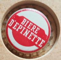 VIEILLE CAPSULE KROONKURK AMERICA U.S.A. BIÈRE D' EPINETTE - Beer