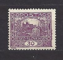 Czechoslovakia 1919 MNH ** Mi 29 Bb Gez. Sc 47 Hradcany At Prague.Tschechoslowakei. C2 - Czechoslovakia