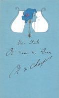 CPA  ILLUSTRATEUR - Femme - ART NOUVEAU - Lady - Style Mucha -ecrite - Mais Superbe - ( Illu-7) - 1900-1949