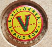 VIEILLE CAPSULE KROONKURK AMERICA U.S.A. E.R. VILLARREAL - Beer