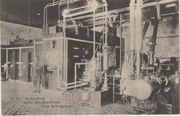 CPA  12  ROQUEFORT SALLE DES MACHINES D UN REFRIGERANT - Roquefort