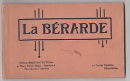Carnet Complet De 12 Cartes La Bérarde (38) Editions Martinotto Circa  1920  Petit éditeur Cartes Assez Rares - Andere Gemeenten