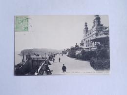CPA 80. Monte Carlo, Monaco, Le Casino Et Les Terrasses, 1909 - Terrassen