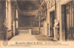 BRUXELLES - (Hôtel De Ville) - Escalier D'Honneur. - Monumenti, Edifici
