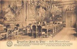 BRUXELLES - (Hôtel De Ville) - Salle Maximilienne - Monumenti, Edifici