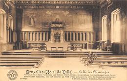 BRUXELLES - (Hôtel De Ville) - Salle Des Mariages - Monumenti, Edifici