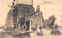 BRUXELLES - Colonne Du Congrès - Le Tombeau Du Soldat Inconnu - Monumenti, Edifici