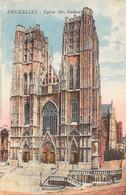 BRUXELLES - Eglise Ste. Gudule - Monumenti, Edifici