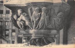 BRUXELLES - Escalier De L'Hôtel De Ville (détail). - Monumenti, Edifici