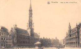 BRUXELLES - Hôtel De Ville Et Grand'Place. - Monumenti, Edifici