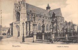 BRUXELLES - L'église Du Sablon. - Monumenti, Edifici