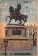 BRUXELLES - Statue Godefroid De Bouillon - Monumenti, Edifici
