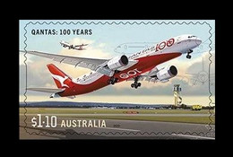 Australia 2020 Mih. 5198 Civil Aviation. Qantas Dreamliner Aircraft (self-adhesive) MNH ** - Mint Stamps