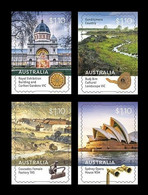 Australia 2020 Mih. 5207/10 UNESCO World Heritage In Australia (self-adhesive) MNH ** - Neufs