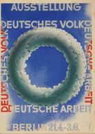 Colorr-Ansichtskarte Berlin Ausstellung Deutsches Volk Ungelaufen - Other