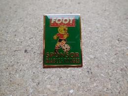 Pin's Foot Magazine Sponsor Des Diables Rouges...BT2 - Trademarks