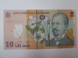 Romania 10 Lei 2018(2019) UNC Polymer Banknote/crown Coat-Stema Cu Coroana - Romania