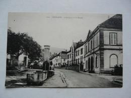 CPA 68 HAUT RHIN - FRELAND : L'Hospice Et La Mairie - Scène Animée - Andere Gemeenten