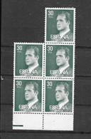 SPANJE Blok Van 5  (**) - Collections