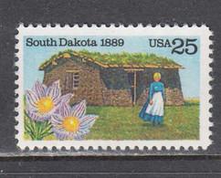 USA 1989 - South Dakota, MNH** - Vereinigte Staaten