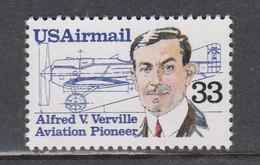 USA 1985 - Air Mail, Aviation Pioneers: Alfred Ferville, MNH** - Vereinigte Staaten