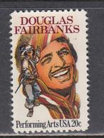 USA 1984 - Douglas Fairbanks, MNH** - Vereinigte Staaten