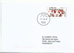Vignette De Distributeur Inform - ATM - Fleurs De Cerisier - FDC - 2011-... Covers
