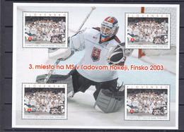 2003. Slovakia. Mi 456 Klb. MNH - Blocs-feuillets