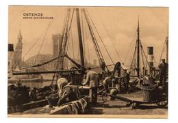 BELGIQUE - OSTENDE Arrivée Des Pêcheurs - Oostende
