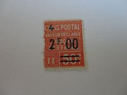 TIMBRE DE FRANCE  COLIS POSTAUX  N°63  MNH - Mint/Hinged