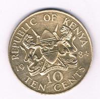 10 CENTS 1984  KENIA /8434/ - Kenya