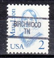 USA Precancel Vorausentwertung Preo, Locals Tennessee, Birchwood 904 - Prematasellado