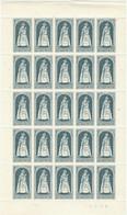 COB  1436  (MNH)  Planche 4  Coin Daté  28 VI 67 - Full Sheets