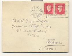 Dulac , N° 691 X 2 Sur Lettre Du 20 1 1946 - 1921-1960: Periodo Moderno