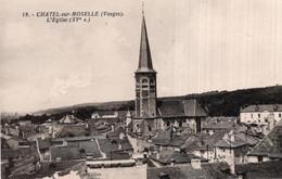 CPA   88   CHATEL-SUR-MOSELLE---L'EGLISE - Chatel Sur Moselle
