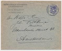 Firma Envelop S Hertogenbosch 1928 - Neerlandsch Koffiehuis - Non Classés