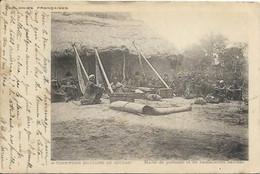 DAHOMEY, Halte De Porteurs Et De Hamacaires Baribas, Précurseur - Dahomey