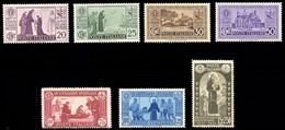 1931 S.ANTONIO N. 292/298  NUOVI* CENTRATI TRACCIA DI LINGUELLA SPLENDIDA - MVLH  EXTRA FINE - Nuevos