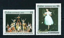 Cuba Nº 4131/2 Nuevo --- Temática Música - Ballet - Ungebraucht