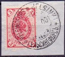 Finland 1891 3kop Zegel Met Ringen GB-USED - 1856-1917 Russische Verwaltung