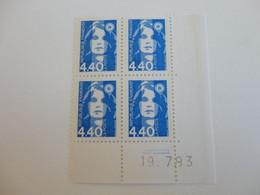TIMBRE DE FRANCE COIN DATE N° 2822     19/07/93  MNH - 1990-1999