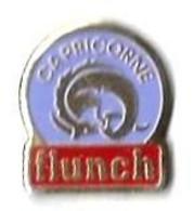 FLUNCH - F11 - CAPRICORNE - Verso :BOITE A PIN'S - Trademarks