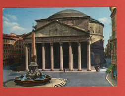 CP EUROPE ITALIE LATIUM ROMA 107 Le Panthéon - Pantheon