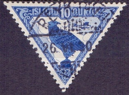 IJsland 1930 10aur Luchtpost GB-USED - Gebruikt