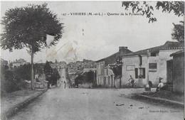 VIHIERS ( M Et L ) : Quartier De La Pyramide  (1918 ) - Other Municipalities