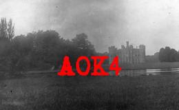 MOULBAIX Chateau Parc Ath Hainaut 1918 Occupation Allemande Feldpost Kriegslazarett - Ath