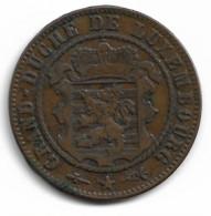 Monnaie Luxembourg  10 Centimes 1870  Rare Plat04 - Lussemburgo