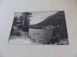 1297 - CPA , SUISSE , Lac Champex - VS Valais